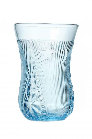 Teeglas aus der Sammlung Fuat Ozgen, Sonderausstellung Inci Belli im Werkbundarchiv - Museum der Dinge, Foto Koray Ozgen