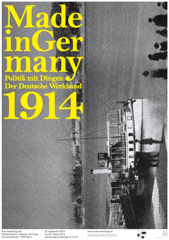 """Plakat der Sonderausstellung """"Made in Germany"""""""